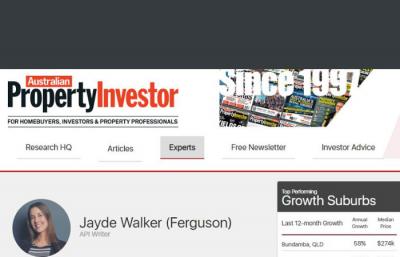Australian Property Investor Magazine portfolio